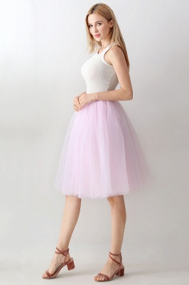 Jewel Sleevelss Knee Length A-line Cute Short Party Dresses_61