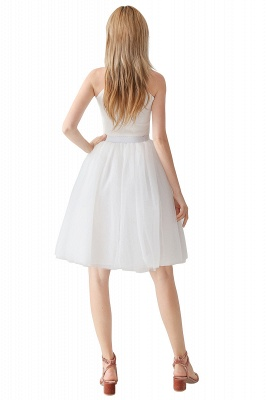 Jewel Sleevelss Knee Length A-line Cute Short Party Dresses_19