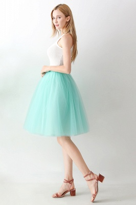 Jewel Sleevelss Knee Length A-line Cute Short Party Dresses_27