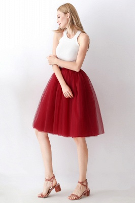 Jewel Sleevelss Knee Length A-line Cute Short Party Dresses_75