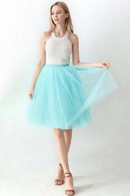 Jewel Sleevelss Knee Length A-line Cute Short Party Dresses_31