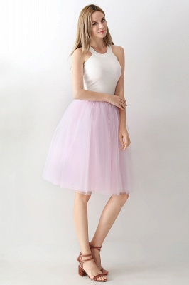Jewel Sleevelss Knee Length A-line Cute Short Party Dresses_57