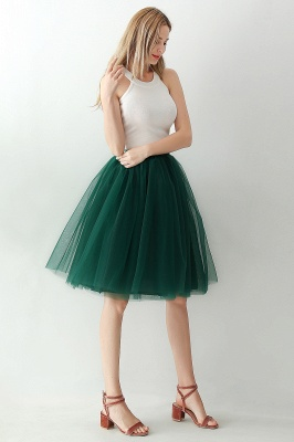 Jewel Sleevelss Knee Length A-line Cute Short Party Dresses_97
