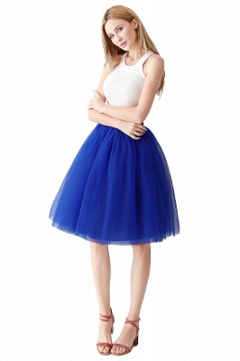 Jewel Sleevelss Knee Length A-line Cute Short Party Dresses_6