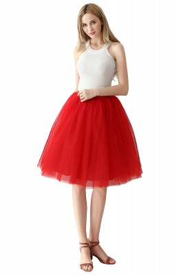 Jewel Sleevelss Knee Length A-line Cute Short Party Dresses_3