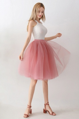 Jewel Sleevelss Knee Length A-line Cute Short Party Dresses_44