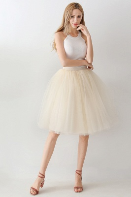 Jewel Sleevelss Knee Length A-line Cute Short Party Dresses_110