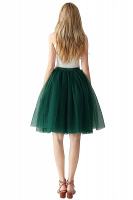 Jewel Sleevelss Knee Length A-line Cute Short Party Dresses_93