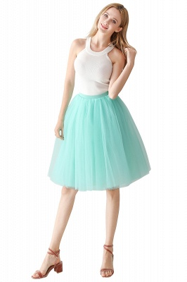 Jewel Sleevelss Knee Length A-line Cute Short Party Dresses_10