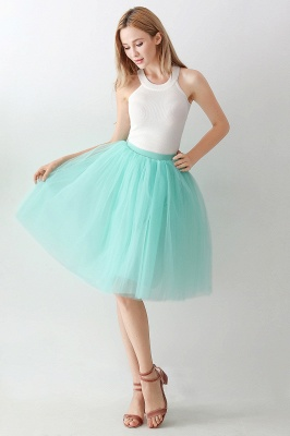 Jewel Sleevelss Knee Length A-line Cute Short Party Dresses_25