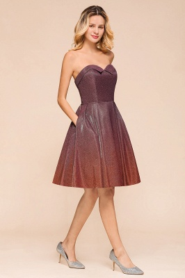 Sweetheart Sleeveless Backless Short A Line Homecoming Dresses | Cheap Cocktail Dresses_5