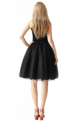 Jewel Sleevelss Knee Length A-line Cute Short Party Dresses_64