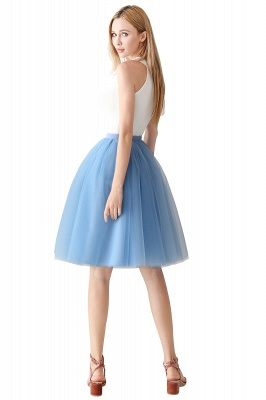 Jewel Sleevelss Knee Length A-line Cute Short Party Dresses_69
