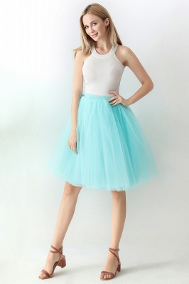 Jewel Sleevelss Knee Length A-line Cute Short Party Dresses_32