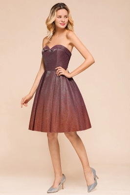 Sweetheart Sleeveless Backless Short A Line Homecoming Dresses | Cheap Cocktail Dresses_7