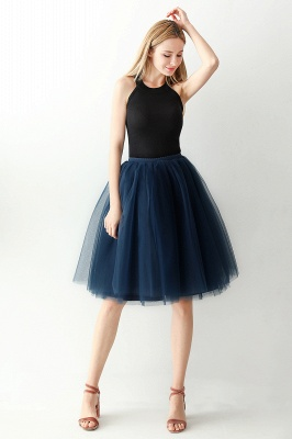 Jewel Sleevelss Knee Length A-line Cute Short Party Dresses_42