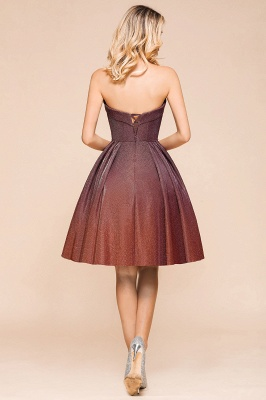 Sweetheart Sleeveless Backless Short A Line Homecoming Dresses | Cheap Cocktail Dresses_3