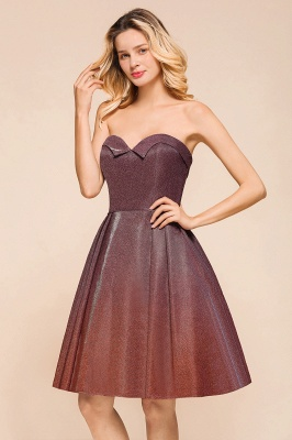 Sweetheart Sleeveless Backless Short A Line Homecoming Dresses | Cheap Cocktail Dresses_8