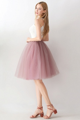 Jewel Sleevelss Knee Length A-line Cute Short Party Dresses_55