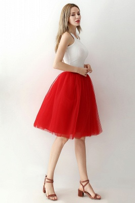 Jewel Sleevelss Knee Length A-line Cute Short Party Dresses_76