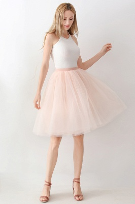 Jewel Sleevelss Knee Length A-line Cute Short Party Dresses_109