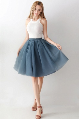 Jewel Sleevelss Knee Length A-line Cute Short Party Dresses_13