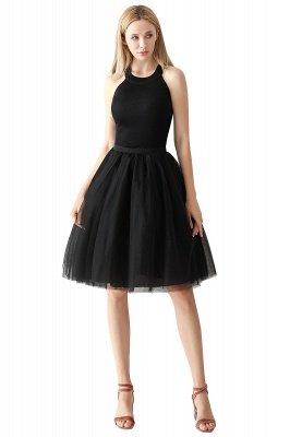 Jewel Sleevelss Knee Length A-line Cute Short Party Dresses_8