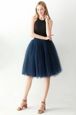 Jewel Sleevelss Knee Length A-line Cute Short Party Dresses_43