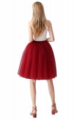 Jewel Sleevelss Knee Length A-line Cute Short Party Dresses_77