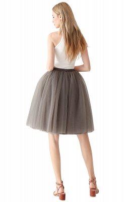 Jewel Sleevelss Knee Length A-line Cute Short Party Dresses_91