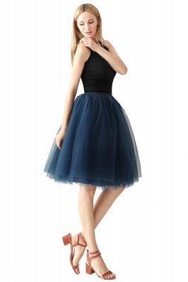 Jewel Sleevelss Knee Length A-line Cute Short Party Dresses_7