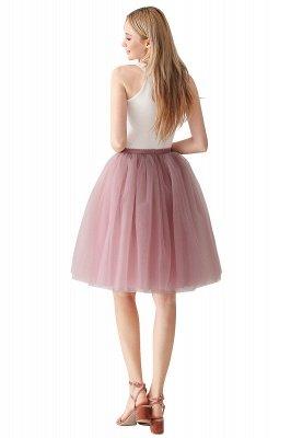 Jewel Sleevelss Knee Length A-line Cute Short Party Dresses_57