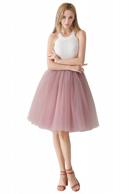 Jewel Sleevelss Knee Length A-line Cute Short Party Dresses_14