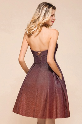 Sweetheart Sleeveless Backless Short A Line Homecoming Dresses | Cheap Cocktail Dresses_9