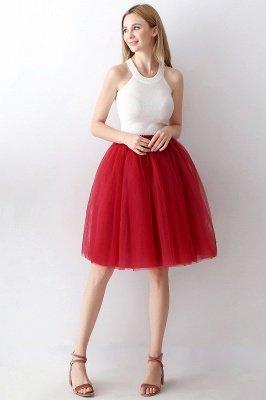 Jewel Sleevelss Knee Length A-line Cute Short Party Dresses_74