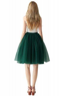 Jewel Sleevelss Knee Length A-line Cute Short Party Dresses_93