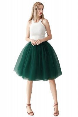 Jewel Sleevelss Knee Length A-line Cute Short Party Dresses_9