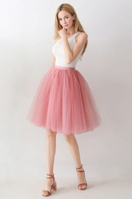 Jewel Sleevelss Knee Length A-line Cute Short Party Dresses_46