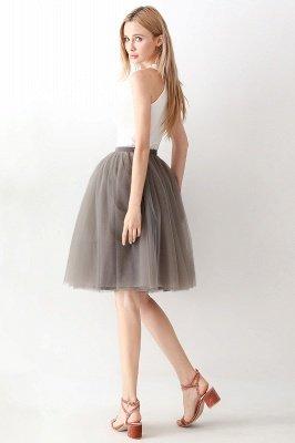 Jewel Sleevelss Knee Length A-line Cute Short Party Dresses_89