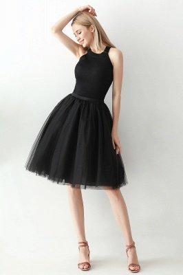 Jewel Sleevelss Knee Length A-line Cute Short Party Dresses_64