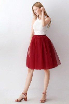 Jewel Sleevelss Knee Length A-line Cute Short Party Dresses_73