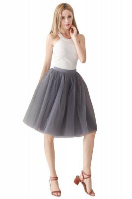 Jewel Sleevelss Knee Length A-line Cute Short Party Dresses_18