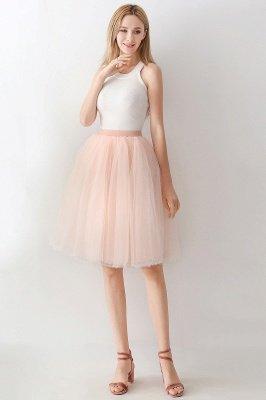Jewel Sleevelss Knee Length A-line Cute Short Party Dresses_107