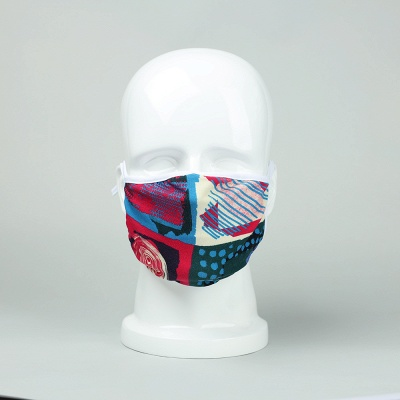 Endorsed Print Face Masks washable ultraviolet-proof Dustproof Respirator Riding Cycling Sports Print Mouth Masks Outdoor (5 Inserts/1 piece)_15