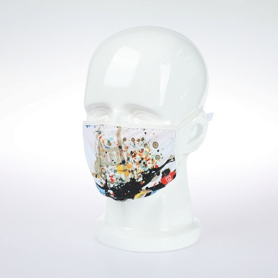 Endorsed Print Face Masks washable ultraviolet-proof Dustproof Respirator Riding Cycling Sports Print Mouth Masks Outdoor (5 Inserts/1 piece)_31