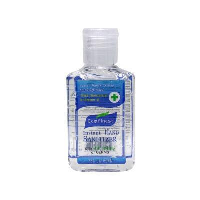 60 ML Portable 75% Alcohol Gel with Vitamin E Hand Santizer (20 bottles*60ml)