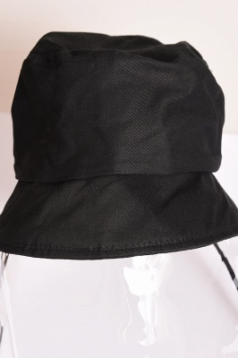 Bucket Hat With Mask Eye Protection Fishing Hat Cap Anti-pollen Mask Anti-saliva Cover Full Face Caps 2020 Safety Hat_8