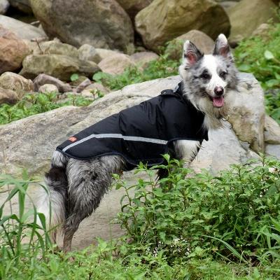 Dog Jacket Rainwear Rain Poncho Jacket for Dogs_4