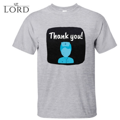Cotton Jewel Thank You Printed T-shirt Special Memory 2020_3