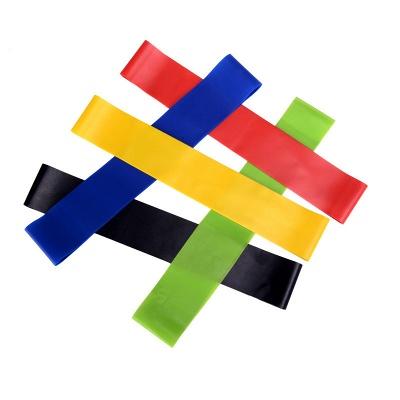5 PCS Per Set Elastic Rubber Resistance Yoga Stripes With Bag_4